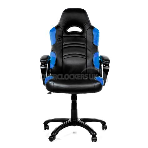 arozzi enzo gaming chair blue ocuk