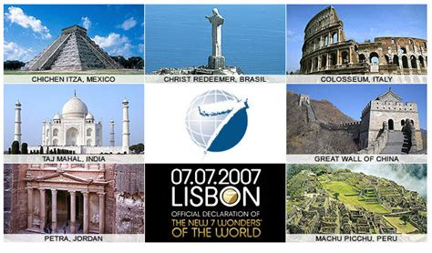 les 7 merveilles du monde arts et voyages