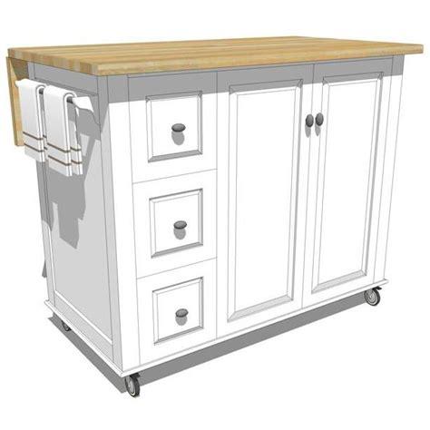 Mobile Kitchen Island 3d Model  Formfonts 3d Models