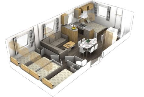 mobil home 3 chambres 2 salles de bain