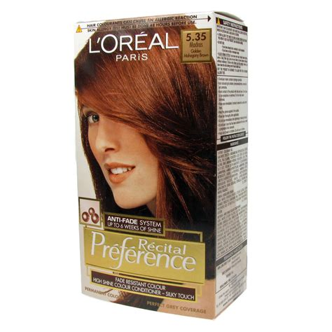 L'oreal Recital Preference Permanent Hair Color 535