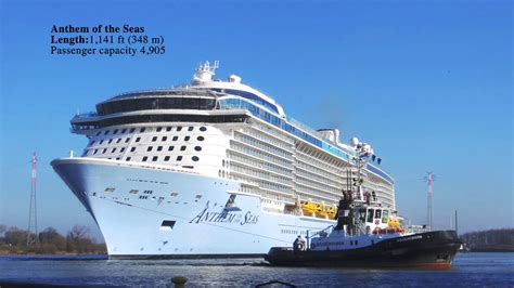 Pictures Of The Biggest Boat In The World by Top 10 Largest Cruise Ships In The World 2017 Youtube