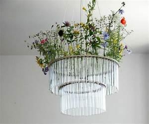 Kronleuchter Mit Lampenschirm : lampenschirm selber machen bastelideen aus alltagsgegenst nden ~ Markanthonyermac.com Haus und Dekorationen