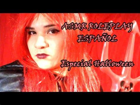 Asmr Roleplay EspaÑol Una Cita Con El Diablo (especial Halloween Y 5000 Suscriptores) Youtube