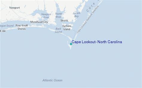Cape Lookout, North Carolina Tide Station Location Guide