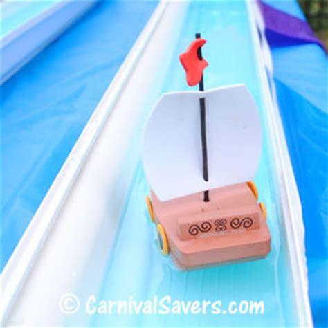 Toy Boat Ideas by Rain Gutter Regatta School Carnival Game Idea Toy Boat