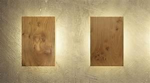 Holz Dekoration Modern : wandleuchte aus holz modern und einzigartig ~ Markanthonyermac.com Haus und Dekorationen
