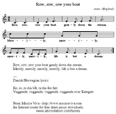 Row Your Boat Lyrics Az by Abc Row Row Row Your Boat Trillian Mit Edu Jc Music