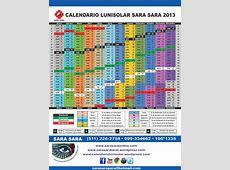 Calendario Lunisolar Sara Sara Tarot Terapéutico con