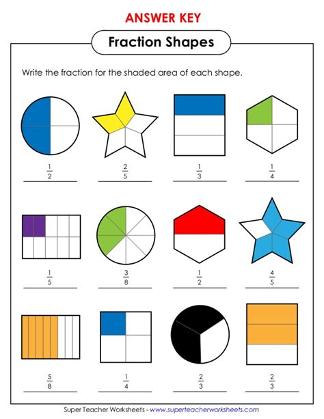 Fractions Of Shapes Worksheets Year 2  Free Worksheets For Maths Ks2 Sheetsfractions