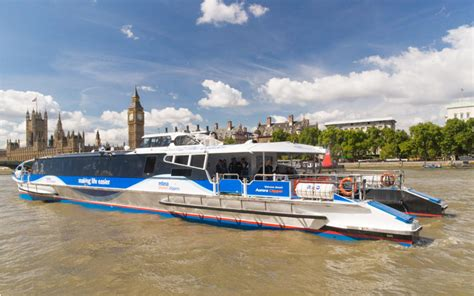Boat Service London about river bus transport for london