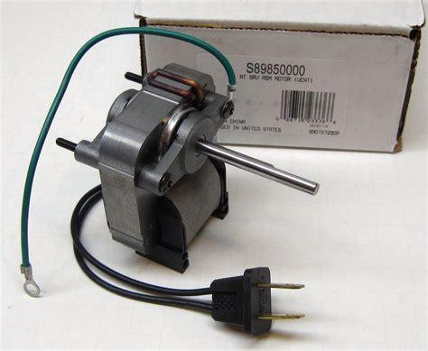 Nutone Bathroom Exhaust Fan 8814r by 89850000 Broan Nutone Bath Fan Vent Motor C 89850 Sp 61k16