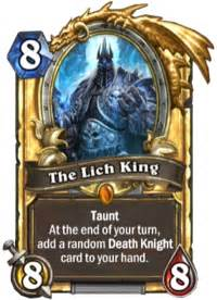 savjz quot until everyone starts running the black the lich king will be meta quot hearthstone
