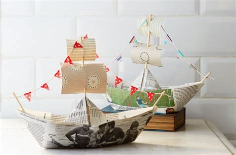 How To Make A Huge Paper Boat by How To Make A Paper Boat Goodtoknow