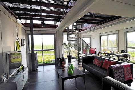 Simple Container Home Interiors On Home Interior With