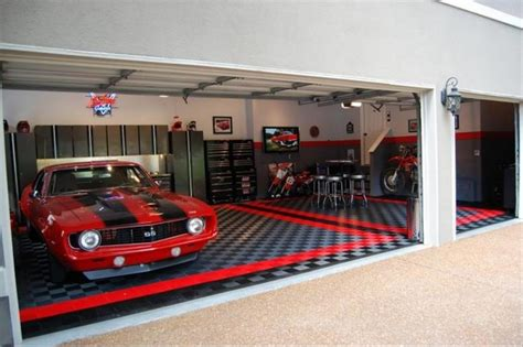 racedeck garage flooring ideas cool garages with cool cars traditional wall floor