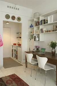 Kleines Wohnzimmer Gestalten : wohnideen f r kleine r ume 25 wohn schlafzimmer ~ Markanthonyermac.com Haus und Dekorationen