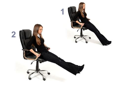 Chair Leg Raise Substitute by 9 Best Exercises You Can Do At Your Workplace Local