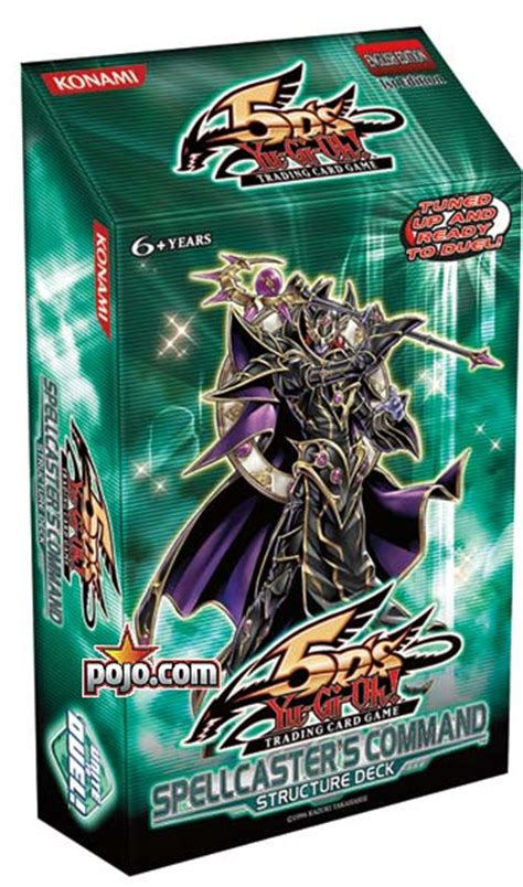 Yugioh Structure Decks List by Yu Gi Oh 5d S Spellcaster S Command Structure Deck
