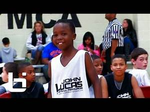 6th Grade PG 'Boopie' Miller Lights Up Lucas Camp! - YouTube
