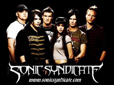 sonic syndicate s history biography gt bands of global east rock festival 2009 fan site of