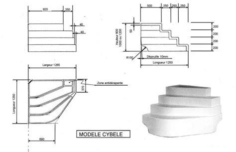 escalier piscine d angle cyb 232 le hauteur 100cm