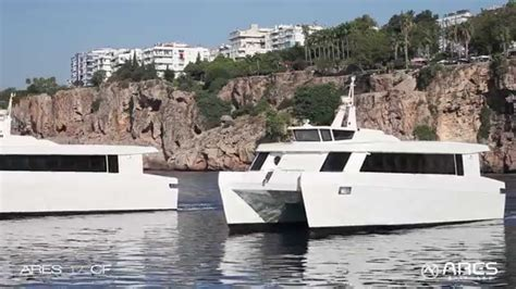 Catamaran Luxury Ferry by Quot Ares 17 Cf Quot Luxury Catamaran Ferry Youtube