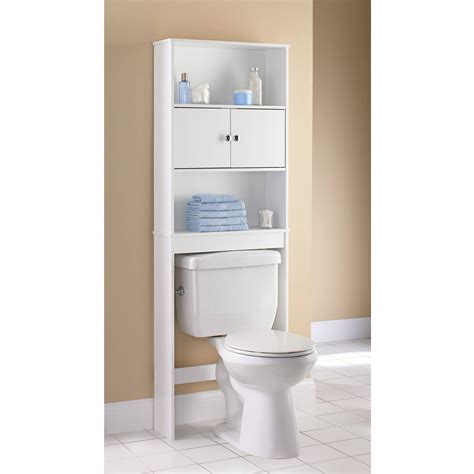Mainstays 3 Shelf Bathroom Space Saver by Mainstays 3 Shelf Bathroom Space Saver Satin Nickel