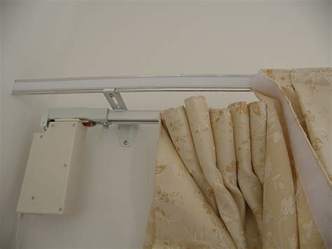 Motorized Curtain Track Canada by L Shape Mounting Bracket For Curtain Rods