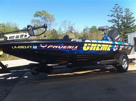 Phoenix Bass Boats Vs Skeeter by Yamaha V Max 150 Sho On A Phoenix 618 Pro Doovi