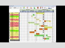 Microsoft Access interactive Gantt Chart YouTube