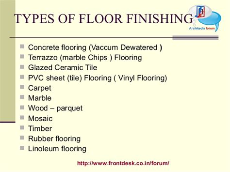 types of flooring ppt meze