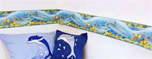 Fliesen Deko Selbstklebend Bad : bord re delfin delfine meeresfische selbstklebend tapeten borte bad fliesen deko ebay ~ Markanthonyermac.com Haus und Dekorationen