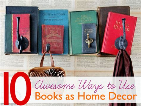 10 awesome ways to use books to spruce up your home decor inhabitat green design