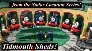 and friends trackmaster sodor location tidmouth