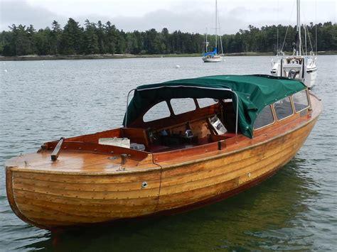 Norwegian Boats by 1964 Snekke Norwegian Fjord Launch Power Boat For Sale