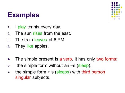 Section 3the Simple Present  Ppt Video Online Download