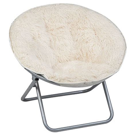 shag saucer chair