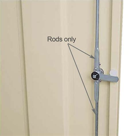 replacement metal locking bars for cabinets using 3 point locking system order per height of