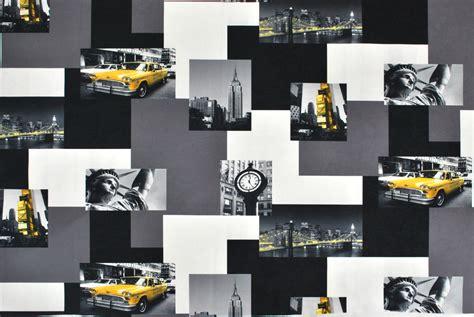 tissu microfibre new york taxi