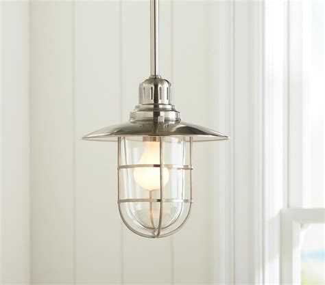 fisherman pendant traditional pendant lighting by pottery barn