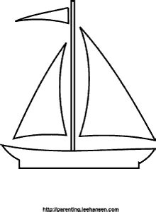 Zeilboot Kleurplaat by Zeilboot Kleurplaat Zeilboot Zomer Coloring Pages
