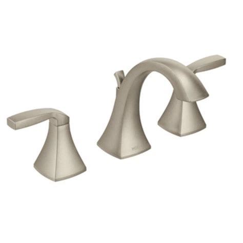 moen t6905bn voss two handle high arc bathroom faucet