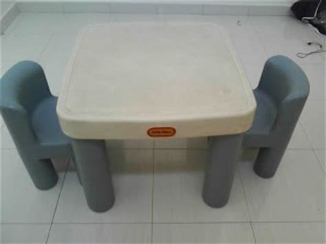 mybundletoys tikes table with 2 chairs