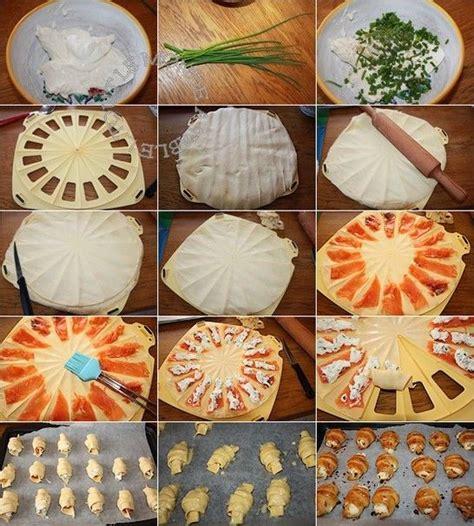 mini croissants saumon fum 233 fromage frais et ciboulette pour l ap 233 ro tout le monde 224 table