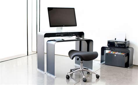 bureau pour ordinateur peu profond en m 233 tal onelessoffice
