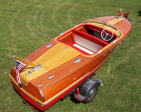 Chris Craft Capri Boats For Sale by Chris Craft 1956 19 Capri Classic Runabout For Sale