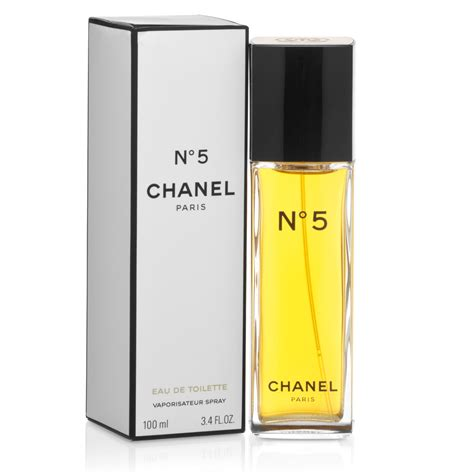chanel no 5 eau de toilette 100ml s of kensington