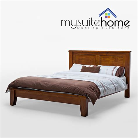 Julian Brand New Nz Solid Pine Timber Wood Queen Bed Frame