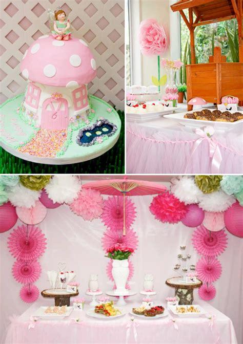 Kara's Party Ideas Pink Fairy Girl Woodland Tinkerbell